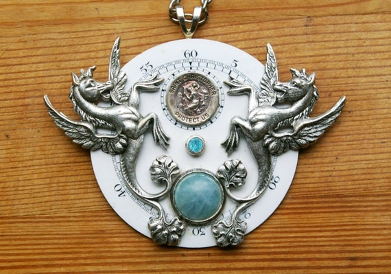 Hippocampus Protection Pendant