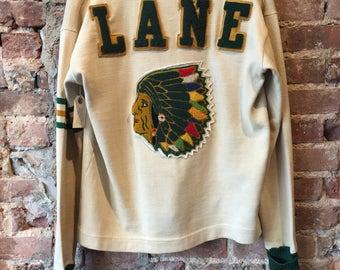 Vintage lane tech varsity cardigan