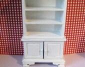 Dollhouse hutch Mini cabinet Hutch dollshouse dresser kitchen dresser bedroom dresser