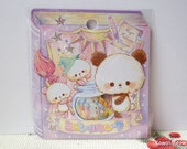 CRUX Sticker Flakes - Cute Pandas - 42 Pieces (05516)