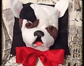 Custom Order for Joanne Cross- body Bag with French Bulldog