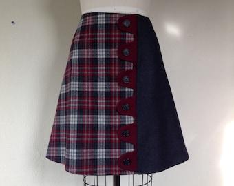 Marsha asymmetrical a-line skirt Sz 14