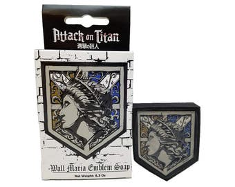 Officially Licensed Attack on Titan Wall Maria Soap
