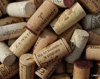 Natural Wine Corks 50 pieces