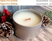 CYBER WEEK SALE Spiced Cranberry Handmade Scented Soy Candle 7.5 oz Free Shipping