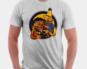 Funny Tshirts | Goonies | Slothbert Love Chunkie | Sesame Street Tshirt | Gifts for Dad | Gifts for Him | Funny tees | The Goonies | 80s tee