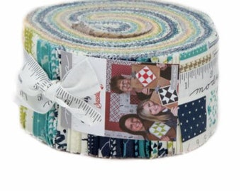 SPRING SALE - Sunday Supper - Jelly Roll - Sweetwater - Moda Fabric