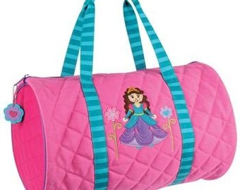 Personalized Stephen Joseph Princess Duffe Bag