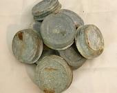 Vintage, Zinc, Mason Jar, Lids
