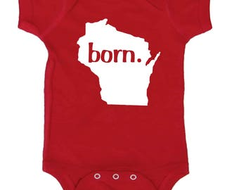 Baby Bodysuit Gender Neutral Coming Home Outfit by Mumsy Goose Newborn Bodysuits Take Home Outfit  4th of July Shirt
