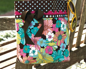 PDF Download of The Provence Tote Bag Purse DIY Sewing Pattern (#101X)