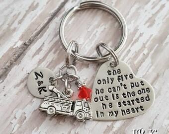 JBK Firefighter Key chain