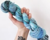 Speckled Egg - Hand dyed 4ply/sock yarn 100g/400m superwash merino, nylon blend