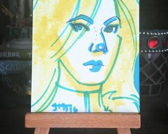 ART CARDS No 69 Emma Frost
