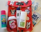 Ouch Pouch Disney Medium 5x7 First Aid Baby Toddler Supplies Day Care School Diaper Bag Organizer Fish Extender Mickey Minnie Mouse Gift