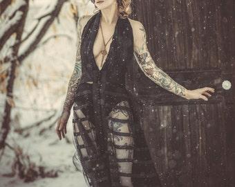 Remade Vintage Black Dress