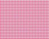 BTY - Gingham in hot pink by Riley Blake