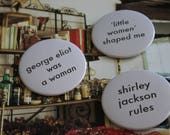 Lit Pins: Reading While Female Series