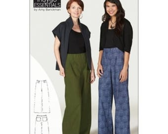 ARTISAN PANTS SEWING Pattern, From Indygo Junction New! By Amy Barickman IJ1161E