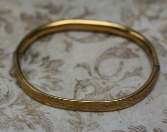 Vintage 10k GF Childs Bracelet