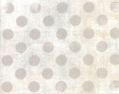NEW White Paper Hits the Spot Grunge by Basic Grey from Moda  your choice of length