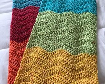 AMAZING WRAP Around Scarf - Multi colored - handmade crochet scarf, scarf, fall winter fashion, cowl neckwarmer shawl collar