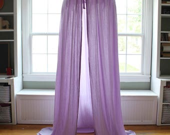 Play Canopy - Lavender Purple - Hanging Tent - Made to Order