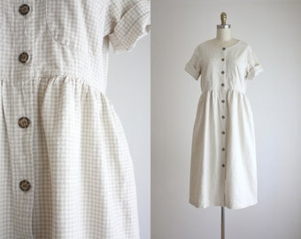 wheaten gingham field dress