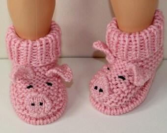 50% OFF SALE Instant Digital File pdf download knitting pattern Toddler Piggy Boots knitting pattern
