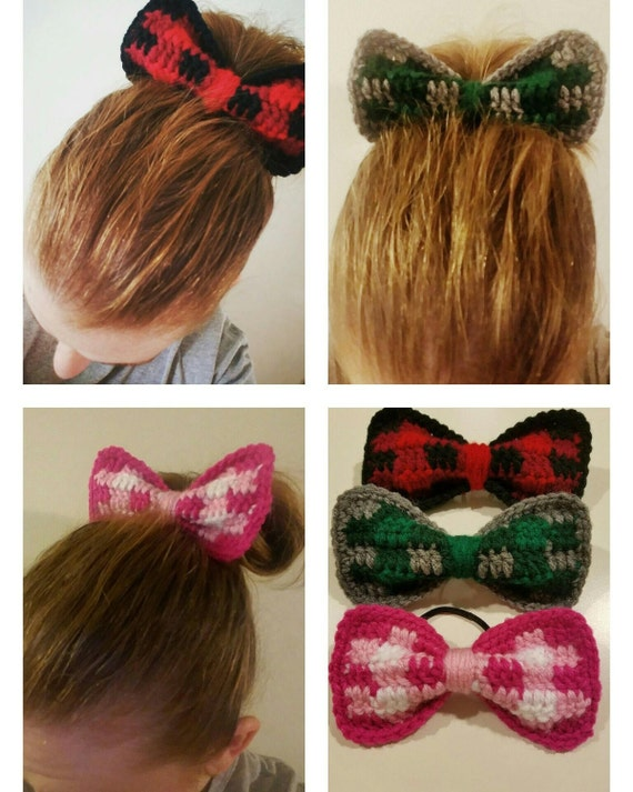 Plaid Hair Bows - Made to Order