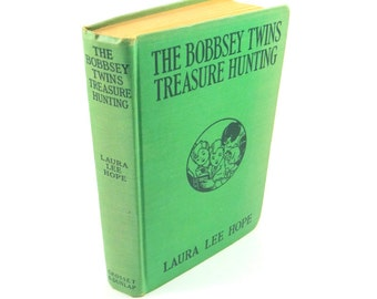 The Bobbsey Twins Treasure Hunting by Laura Lee Hope. 1929 First Edition. Illustrated