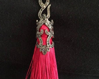 Women, Necklace, Tassel Roaring 20s Necklace Great Gatsby Holiday