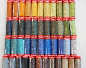 Genziana Wool Thread Sampler Pack for Wool Applique and Embroidery Number 20