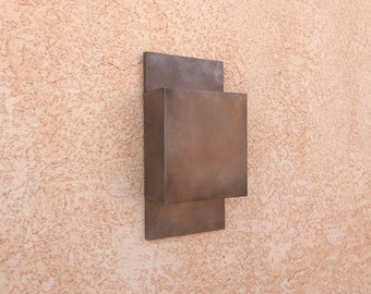 All Steel Contemporary // Light Sconce