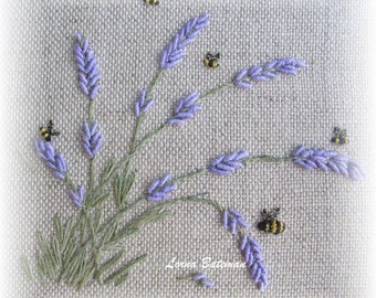 Lavender in the Breeze (bullions) - Full kit