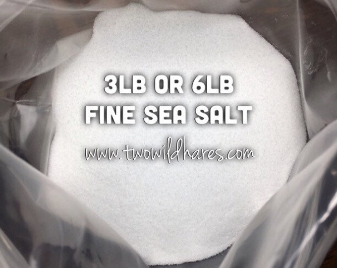 FINE SEA SALT, Food Grade