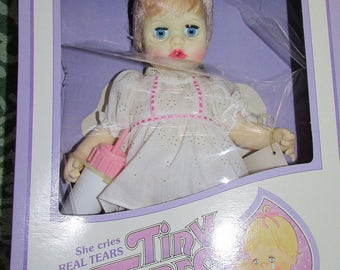 Vintage Ideal TINY TEARS Doll Mint In Original Box