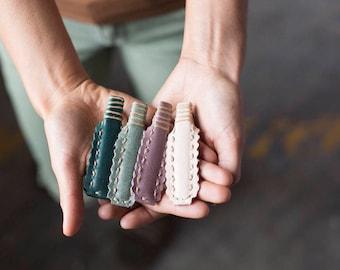 Leather Hair Clip - Boho - Hair Clip - Barrette - Hair Accessory - Boho Hair Accessory - Hair Ties - Hair Bands - Hair Accessories For Women