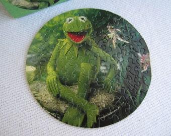 Vintage 1979 Kermit The Frog Hallmark Springbok Mini Puzzle