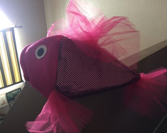 Raspberry beta fish costume