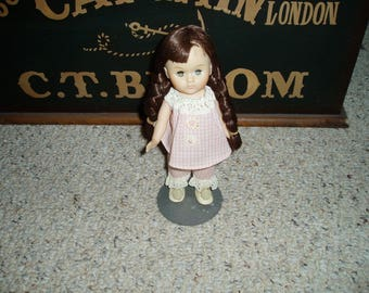 Vogue Ginny Doll with Long Brown Braids
