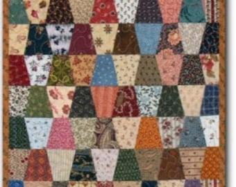 """Tiny Tumblers """"Little Quilt"""" Pattern"""
