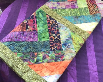 New 2017, Quilt, batik baby quilt, handmade quilt, ready to ship, Hawaiian baby quilts, ,  shower gift, lap quilt, Cotton quilt