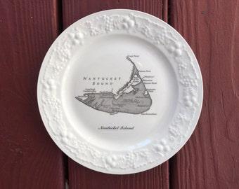 Vintage Nantucket Souvenir Plate