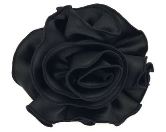 Blooming Delight Snap-In Dog Bows® Collar Attachment - Black - Dog Accessories, Pet Accessories, Dog Collar Flower, Pet Attire