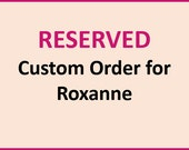 Customer Listing for Roxanne only