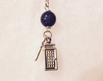 Doctor Who Charm Necklace