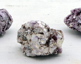Lepidolite Gemstone Cluster - Clear the Blockages in Life