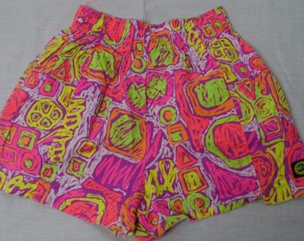 OP OCEAN PACIFIC Vintage Surfer Shorts Swimming Trunks 1980's Surf Skate