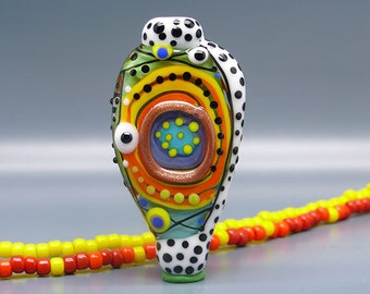 Wild Thing - Art Glass by Michou P. Anderson - ( Label: Sonic & Yoko )